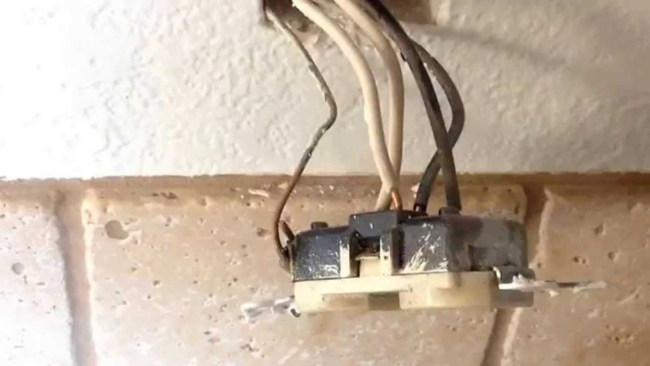 worn-out wiring